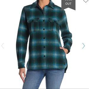 SmartWool Anchor Line Plaid Shirt Jacket